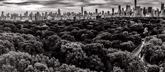 Panoramic Central Park Manhattan May 2018 (dannydalypix) Tags: blackandwhite metropolis gotham newyorkcity centralpark manhattan