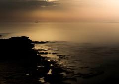 Depressed yellow #Sea (ali.fathi) Tags: depressedyellow yellow depressed outdoor chromatic trip travel island 2017 creative composition nature nikon sea longexposure 2470 persiangulf gulf qeshm colored d810 iran