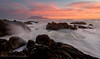 Different Channel Different Wave (Panorama Paul) Tags: paulbruinsphotography wwwpaulbruinscoza southafrica westerncape capetown tablemountain blaauwbergbeach sunset mountain rocks clouds orange pink nikond800 nikkorlenses nikfilters