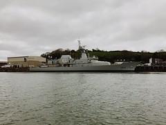 Photo of LÉ George Bernard Shaw. Built at Appledore Shipyard