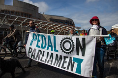 #POP2018  (139 of 230) (Philip Gillespie) Tags: pedal parliament pop pop18 pop2018 scotland edinburgh rally demonstration protest safer cycling canon 5dsr men women man woman kids children boys girls cycles bikes trikes fun feet hands heads swimming water wet urban colour red green yellow blue purple sun sky park clouds rain sunny high visibility wheels spokes police happy waving smiling road street helmets safety splash dogs people crowd group nature outdoors outside banners pool pond lake grass trees talking bike building sport