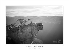 Hanging out at Hanging Rock (sugarbellaleah) Tags: people adventure hangingrock bluemountains blackheath guitar extreme bushwalk hike cluods weather nature wilderness trees forest valley grosevalley man woman female male enjoyment freedom excitement bush sandstone sunlight sky environment sport leisure recreation trek expression happiness fun couple bucketlist outdoors