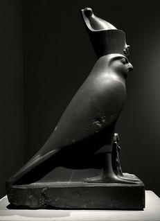 Falcon of Horus  Taken at th Metropolitan Museum of Art, New York City