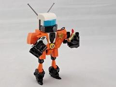 Science Patrol (Deltassius) Tags: lego moc scifi figurine pilot ultraman science patrol