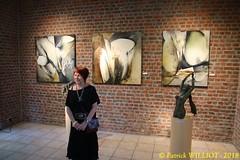 IMG_9405 (Patrick Williot) Tags: exposition vernissage ecuries sculpteur michal peintre genevieve nicolas