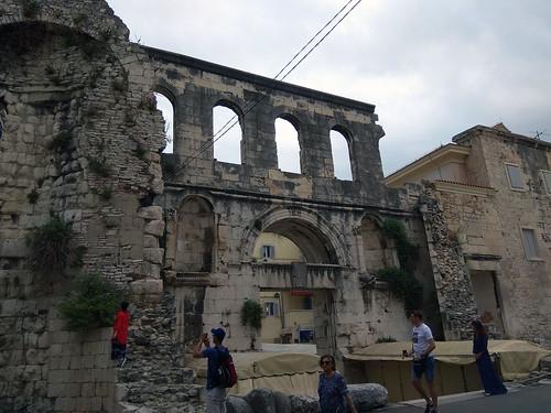 Diocletian's Palace at Split / Pałac Dioklecjana w Splicie