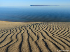 Spring Dunes (JamesEyeViewPhotography) Tags: lake michigan beach sky sand dunes greatlakes water sleepingbeardunesnationallakeshore manitouisland landscape lakemichigan spring may northernmichigan nature morning jameseyeviewphotography