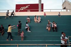 * (Sakulchai Sikitikul) Tags: street snap streetphotography summicron songkhla sony stadium thailand hatyai 35mm leica children family