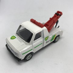 Corgi GB - Corgi Juniors - Ford Transit Wrecker - BP Service -  Miniature Diecast Metal Scale Model Vehicle (firehouse.ie) Tags: vehicules vehicule vehicles vehicle fordtransit bp model models metal miniatures miniature bpservice wrecker transit ford corgijuniors corgi