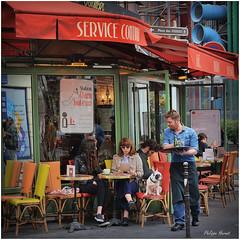Rue Rambuteau - Paris 2014 (Philippe Hernot) Tags: paris ruerambuteau carré square iledefrance philippehernot kodachrome posttraitement