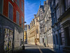 Old Town Grenoble, France (` Toshio ') Tags: toshio grenoble france french europe european europeanunion townsquare oldtown cityhall fujixt2 xt2 city architecture motorcycle scooter road street light shadow