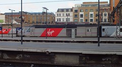 Was this the day it started to go wrong? Kings Cross 01 03 2015 (pnb511) Tags: london kings cross station terminus terminal train shed arched roof glass virgin trains east coast mainline class91 class43 hst highspeedtrains vtec virgintrainseastcoast 43277 91113 91116