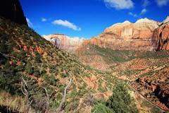 Zion Canyon Utah (dorameulman) Tags: dorameulman zionnationalpark zioncanyon utah mountains canyon sky landscapephotography landscape haiku canon7dmark11 canon