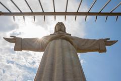 Cristo Rei (Almada) / LISBOA (DrTeNFeet) Tags: canon eos 5d mark iv lissabon portugal lisboa sun sonne blue blau wolken clouds jesus cristo rei almada pt p statue statur