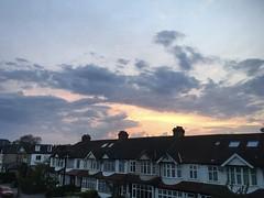 South London sunset sky (goforchris) Tags: london spring heatwave evening sunset sky