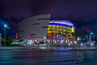 AmericanAirlines Arena, 601 Biscayne Boulevard, Miami, Florida, USA / Architect(s): Arquitectonica and 360 Architecture / Opened: December 31, 1999