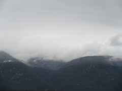 Misty mountains (jamica1) Tags: shuswap salmon arm bc british columbia canada clouds mountains