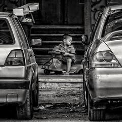 Traffic jam... (Alfy's) Tags: streetphotographybw streetphotography streetpics street streets streetzen bnw blackandwhite monochrome nikon p900 sokhna egypt