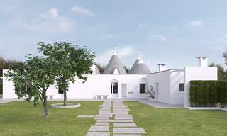 Contemporary Trulli Living in Puglia, Italy