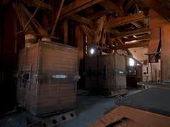P mill (LopazV) Tags: mill urbex urbanexploration urban building abandoned architecture dark factory decay industrial industrialdecay interior light panasonic machine