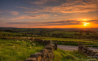 A Yorkshire sunset