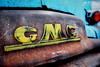 Professional Grade (Hi-Fi Fotos) Tags: gmc vintage truck old rat age badge emblem logo patina rust letters detail american antique nikon d7200 dx hififotos hallewell