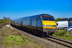 82304 + 68010 - Tyseley - 05/05/18. (TRphotography04) Tags: chiltern railways dvt 82304 was leads 1h17 0910 kidderminster london marylebone past tyseley with 68010 oxford flyer rear