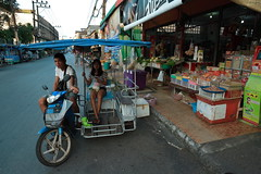 """Pak Nam Lang Suan (g e r a r d v o n k เจอราร์ด) Tags: artcityart art asia asia"""" asian canon city colour canon5d3 expression eos earthasia flickrsbest fantastic flickraward lifestyle land ngc newacademy outdoor totallythailand photos pinnaclephotography people reflection stad street shop this travel thailand thai transport unlimited uit urban vendor venice whereisthis where yabbadabbadoo bike road"""