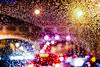 Intensamente (Lea Ruiz Donoso) Tags: agua water drop waterdrop raindrop rain lluvia luces light bokeh crystal noche