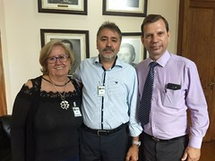 Visita - Pastor Otoniel Palma e sua esposa Elizabete