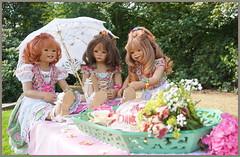 So schön ist der Tag ... (Kindergartenkinder 2018) Tags: kindergartenkinder schloss lembeck annette himstedt dolls tivi milina sanrike