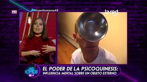 La Red Chilean TV channel Superhumanos ( Super Human ) Miroslaw Magola alias Magnetic Man.