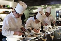 20180505 Tasting Counter chefs (chromewaves) Tags: fujifilm xt20 xf 1855mm f284 r lm ois boston massachusetts tasting counter cambridge