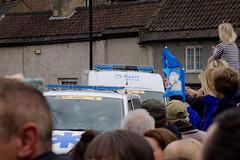 French race ambulances (barronr) Tags: ems england frenchambulance knaresborough rkabworks tourdeyorkshire yorkshire ambulance bathgatephotographer cycling race