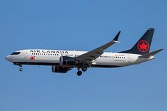 Air Canada - Boeing 737-8MAX C-FSCY @ London Heathrow (Shaun Grist) Tags: ac aircanada boeing 737 max cfscy shaungrist lhr egll london londonheathrow heathrow airport aircraft aviation aeroplanes airline avgeek landing 27r