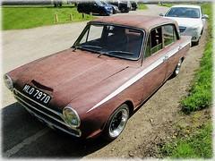 1966 4 door Ford Cortina Mk I  ' street rod ' (John(cardwellpix)) Tags: sunday 6th may 2018 1966 4 door ford cortina mk i street rod newlands corner guildford surrey uk
