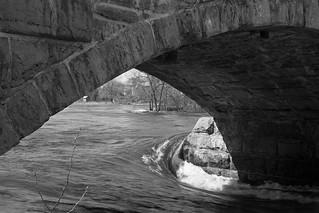 Under the Packenham Bridge
