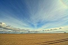 Endless beach (Tobi_2008) Tags: strand beach himmel sky insel island romo dänemark denmark europa europe