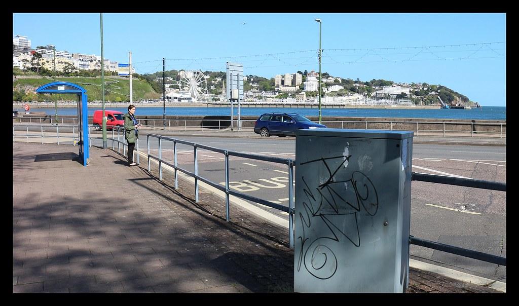 Torquay Seafront Graffiti - (63)