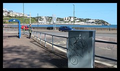 Torquay Seafront Graffiti - (63) (State of Torquay) Tags: torquay torbay tor bay the english riviera south devon westcountry uk england seafront corbyn head grand hotel torre abbey meadows sands beach graffiti vandalism filthy