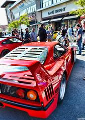 Ferrari F40 (Chad Horwedel) Tags: ferrarif40 ferrari f40 sportscar supercarsaturday promenademall bolingbrook illinois