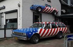 1978 Chevrolet Impala Station Wagon 5.0 V8 & Camaro (rvandermaar) Tags: 1978 chevrolet impala station wagon 50 v8 chevroletimpala sidecode3 14vt90 camaro chevy chevroletcamaro