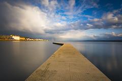 West Kirby marine lake (Lukasz Lukomski) Tags: wirral westkirby marina lake landscape krajobraz longexposure uk unitedkingdom greatbritain wielkabrytania anglia england merseyside dee clouds sky nikond7200 niebo sigma1020