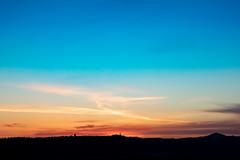 Tuscan sunrise (Salvatore Gerace) Tags: flickr landscape sky sunrise tuscany valdorcia