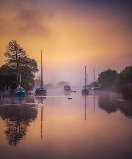Wareham - Sunrise and Mist