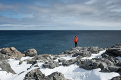 Conqueror (Aymeric Gouin) Tags: canada newfoundland terreneuve nature sea mer ocean atlantic atlantique hiking snow neige hiver winter cold froid light lumière travel voyage landscape paysage paisaje landschaft fujifilm xt2 aymgo aymericgouin
