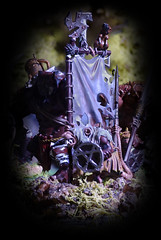 Skaven Flag Bearer (Ray. Hines) Tags: pentaxk5 tamronspaf90mmf28dimacro11 warhammer skaven focusstacking