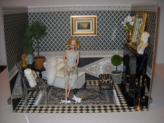 room neoclass furnished (chinadreammommy) Tags: playscale diorama 16 room barbie fashiondoll