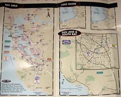 San Francisco Brochure (6) (Photo Nut 2011) Tags: sanfrancisco california map bayarea sanjose laketahoe southbay