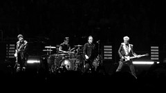 U2 (rossgperry) Tags: u2 experienceinnocencetour u2eitour bono adamclayton theedge larrymullen bw blackwhite 20180507 concert stage music rock postpunk iwillfollow sanjose california